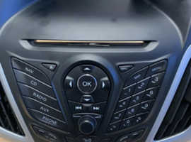 FORD FOCUS MK3 2011-2014 STEREO FACE AUDIO CONTROL FASCIA.