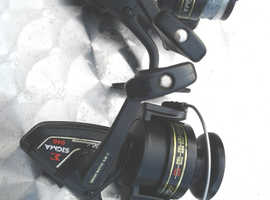 2x recon. shakespeare sigma 2200-040 spinning reels