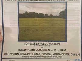 Land for sale Doncaster