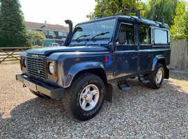 Land Rover Defender, 110,2006 (56) Blue Estate, Manual Diesel, 118,337 miles