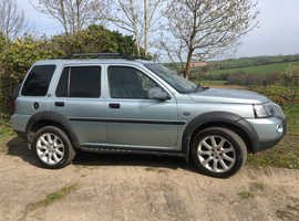 Land Rover Freelander, Silver blue 2.0, TD4, Automatic, Immaculate condition.