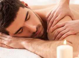 Full body massage, neck, back and arm massage