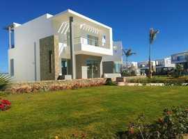 Hurghada, Red Sea, Elegant new Single Villa + Swimming Pool + Sea View + Garden + Installments plan