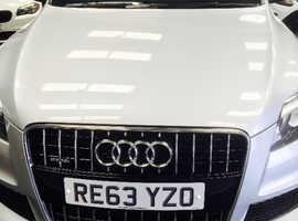 Audi Q7, 2014 (63) Silver Estate, Automatic Diesel, 61,000 miles