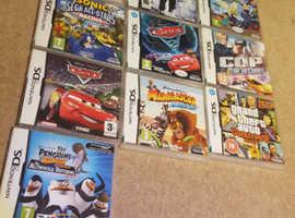 Nintendo Dsi Games (x10)