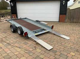 Woodford tilt bed trailer