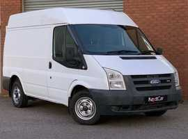 Ford Transit 2.2 TDCI T260S Medium High Roof Van Superb Condition Throughout. No Vat