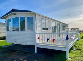 Amazing value family holiday home   Site fees fixed at just £2500pa   2 bed Holiday Home with decking   Centrally Heated and Double glazed