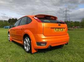 Ford Focus, 2007 (07) Orange Hatchback, Manual Petrol, 146,000 miles