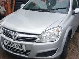 Vauxhall Astra, 2008 (58) Silver Hatchback, Manual Diesel, 140,000 miles