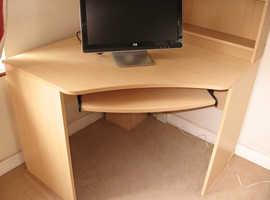 Computer Desk + Chair.