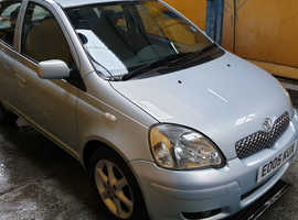 Toyota Yaris, 2005 (05) Blue Hatchback, Manual Petrol, 101,000 miles