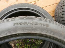 4 winter tyres by Nexen 19inch