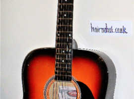 STAGG SW201 SB-VT  An elec / acoustic guitar in fair condition. New Strings used in setting up