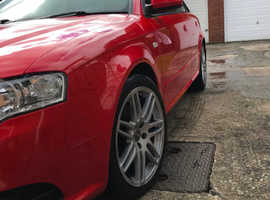Audi A4, 2.0 TDI, S-line, black/special edition, 99,397 miles