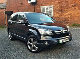 Honda CR-V 2.2 Diesel (59) 2009 Executive Fully Loaded 4x4 *1 Year Warranty* 110k