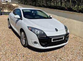 Renault Megane Coupe, 2012 (62) White, Manual, Diesel