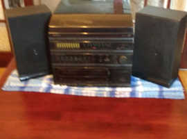 Record Radio and cassette deck