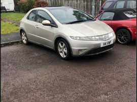 Honda Civic, 2008 (08) Silver Hatchback, Manual Petrol, 151,555 miles