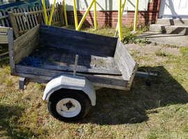 Used 4x3 ft trailer base