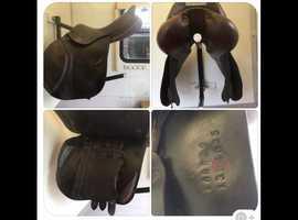 "JW 16"" jump saddle"