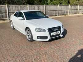 Audi A5, 2011 (11) White Saloon, Manual Petrol, 87,000 miles