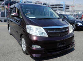 Toyota Alphard rare 3.0V6 Auto in with new conversion by Wellhouse