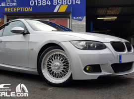 "Calibre Vintage 18"" Alloy Wheels and tyres for BMW 3 series"