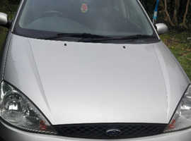 Ford Focus, 2003 (03) Silver Hatchback, Manual Petrol, 134,000 miles