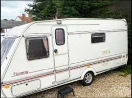 Abi ace touring 4 birth caravan with bunk beds