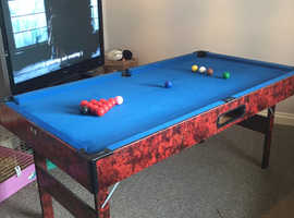 Pool/snooker table 6ft