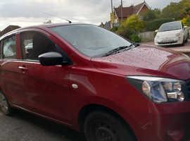 Suzuki CELERIO, 2016 (16) Red Hatchback, Manual Petrol, 26,000 miles