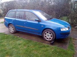 Fiat Stilo Multiwagen Dynamic Estate, 2005 (05) Blue Manual Diesel, 79,000 miles