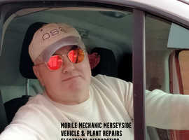 Mobile Mechanic Merseyside Vehicle & Plant Repairs & Electrical Diagnostics