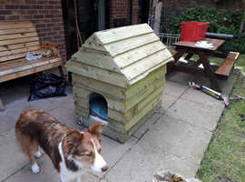 Home made heavy duty dog kennel