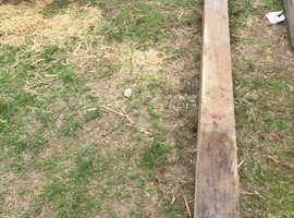 Wood post 6x6 10ft long
