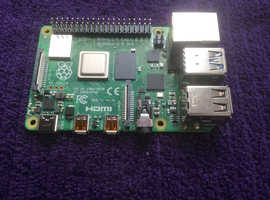 RASPBERRY Pi 4 MODEL B WITH 4GB RAM -NEW IN PACKAGING-FREE P+P