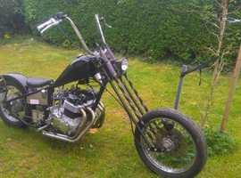 Seventies Honda CB750 Chopper