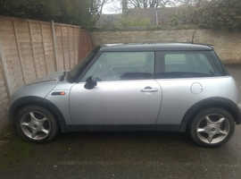 MINI Cooper 2002 (51) Silver Hatchback, Manual Petrol, 173,000 miles