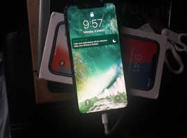 Iphone x 64 gb for sale  cracked screen