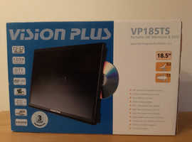 "Vision Plus VP185TS 18.5"" HD TV, Satellite & DVD"