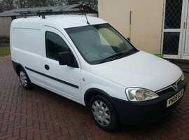 2008 Vauxhall combo van