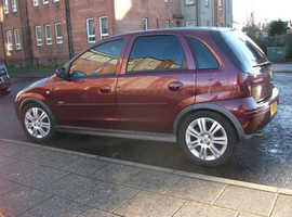 SEMI/AUTOMATIC Vauxhall Corsa (05)  Petrol, 28,550 miles1YRS MOT STAMPED SERVICE BOOK TXT ENYTIME