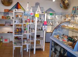Attractive glass confectionery/display cabinet