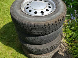 Van wheels and tyres