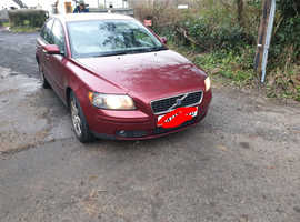 Volvo S40/V50 SERIES, 2007 (07) Red Saloon, Manual Diesel, 71,597 miles