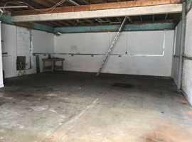 workshop, unit, lock up garage etc. wanted