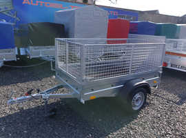 NEW Trailer 6x4 with 60cm mesh and 100cm ramp £840