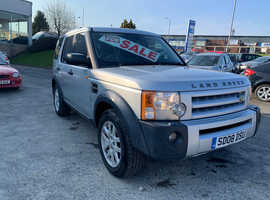 Land Rover Discovery, 2008 (08) Silver Estate, Automatic Diesel, 146,268 miles