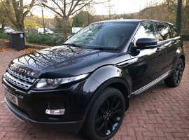 Land Rover RANGE ROVER EVOQUE PR-LUX SD4A, 2012 (12) Black Estate, Manual Diesel, 72,000 miles